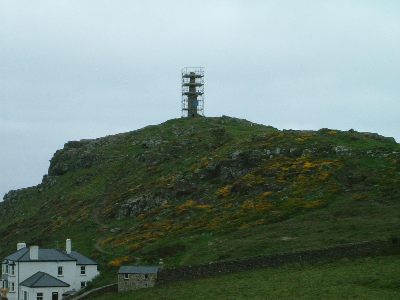Cape Cornwall scaffold