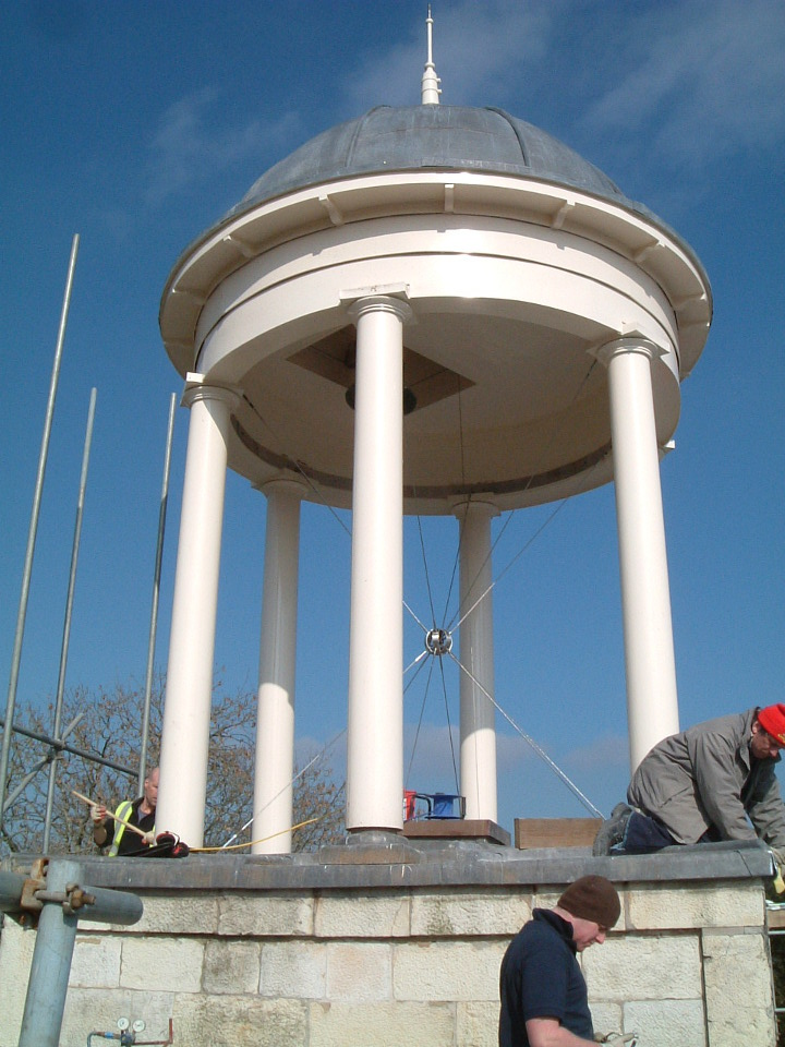 Renovated cupola