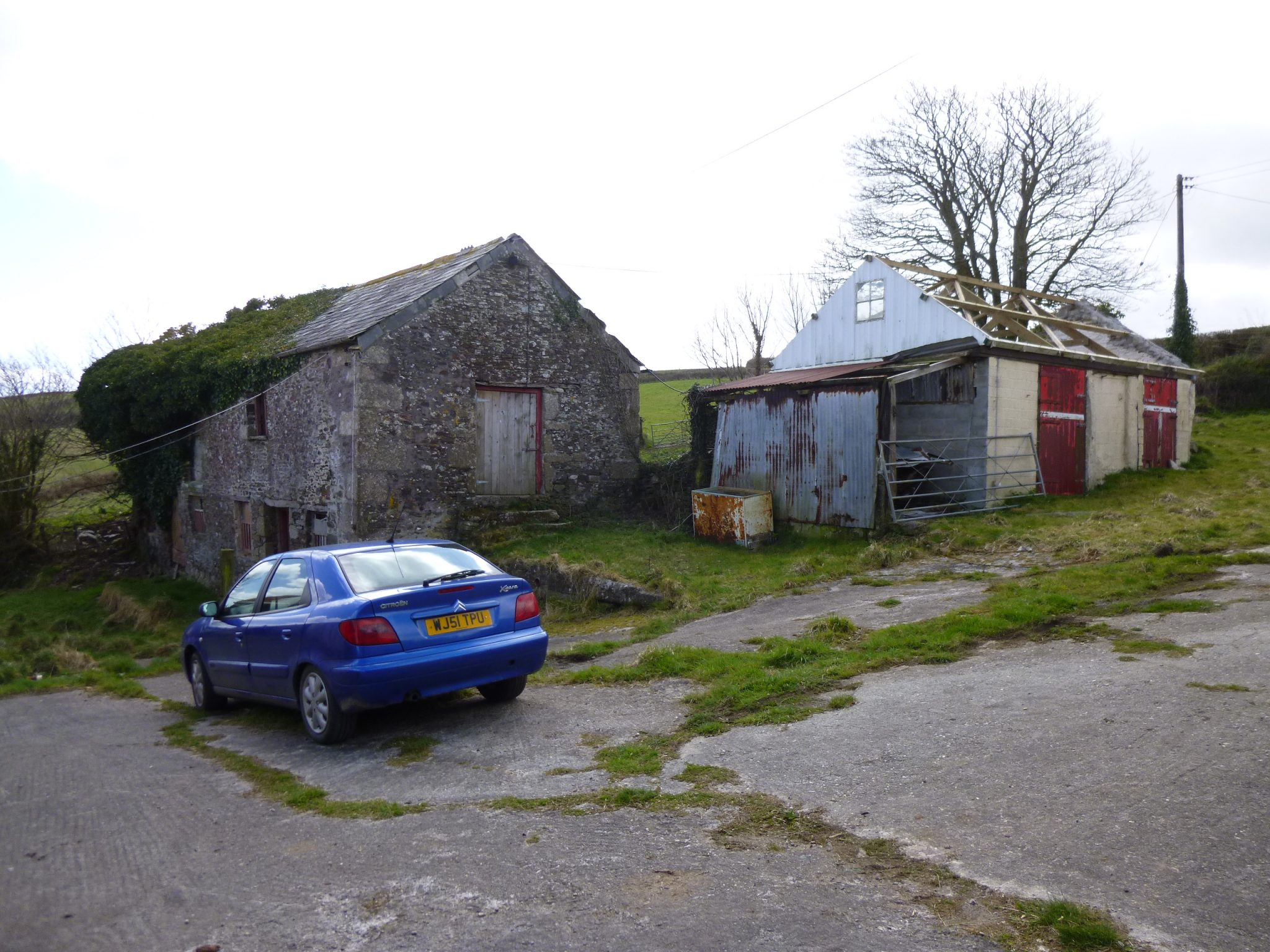 Unconverted barns