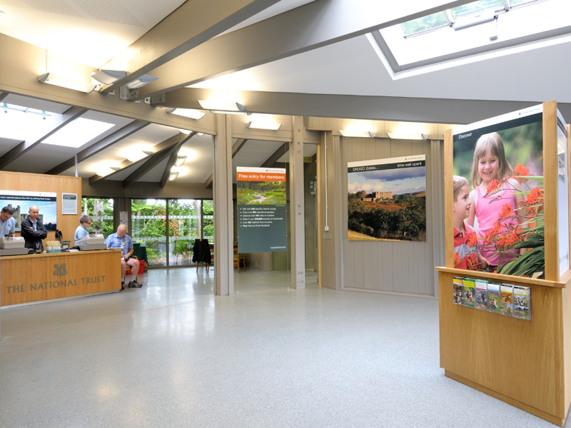 Visitor Centre internal view