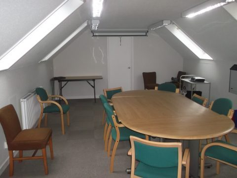 Completed meeting room