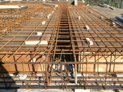 Reinforced concrete roof