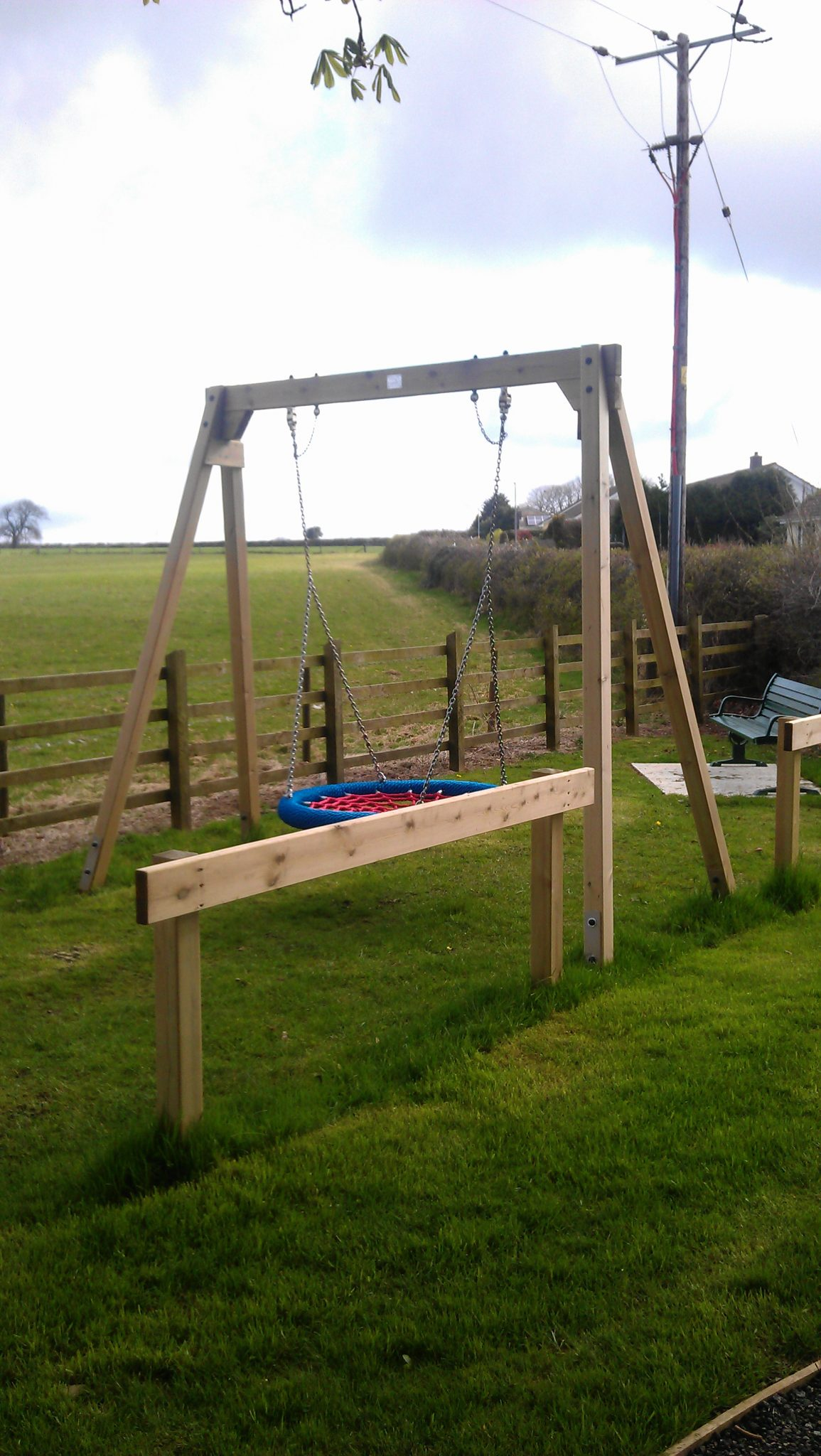 New play equipment