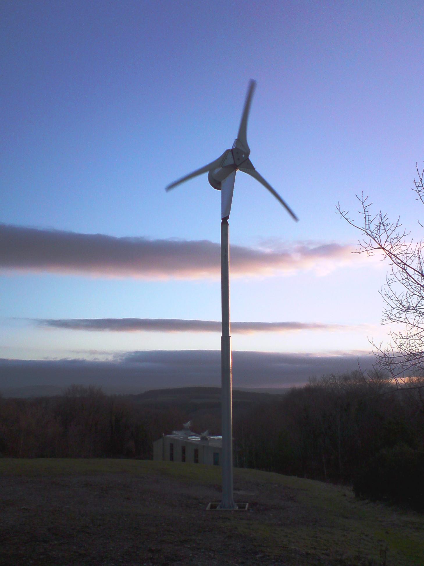 New wind turbine