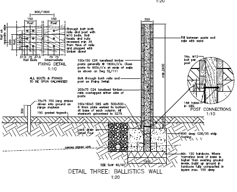 Ballistic wall