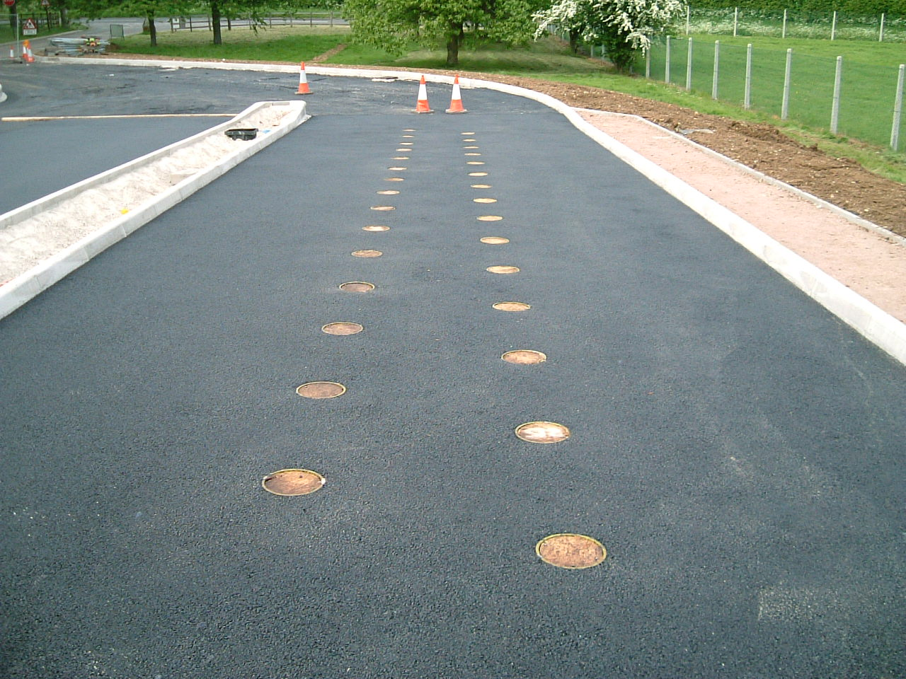 New Access Road