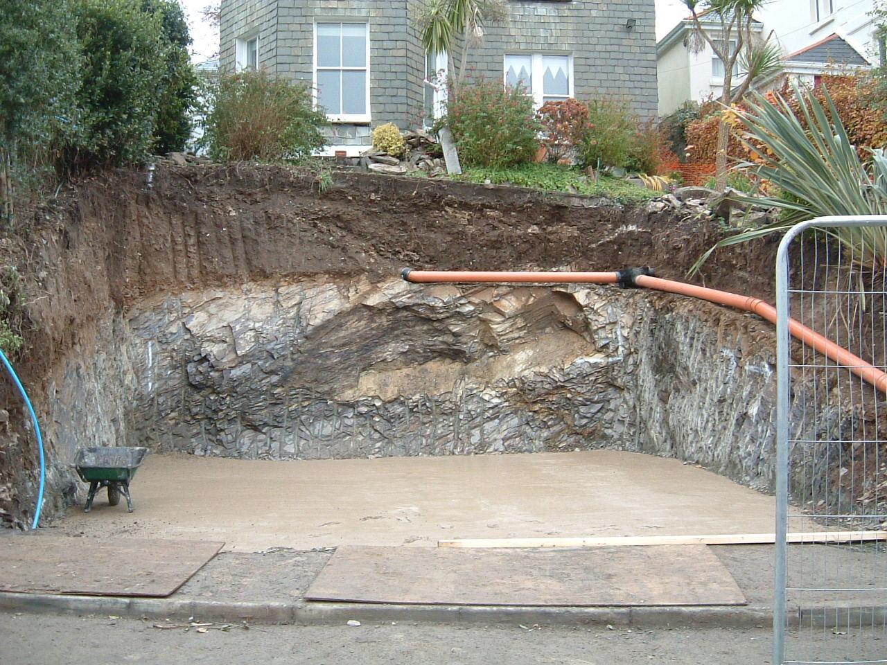 Excavated Garden