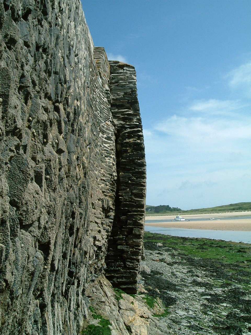 Original quay wall