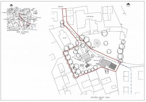 Example medium sized site plan