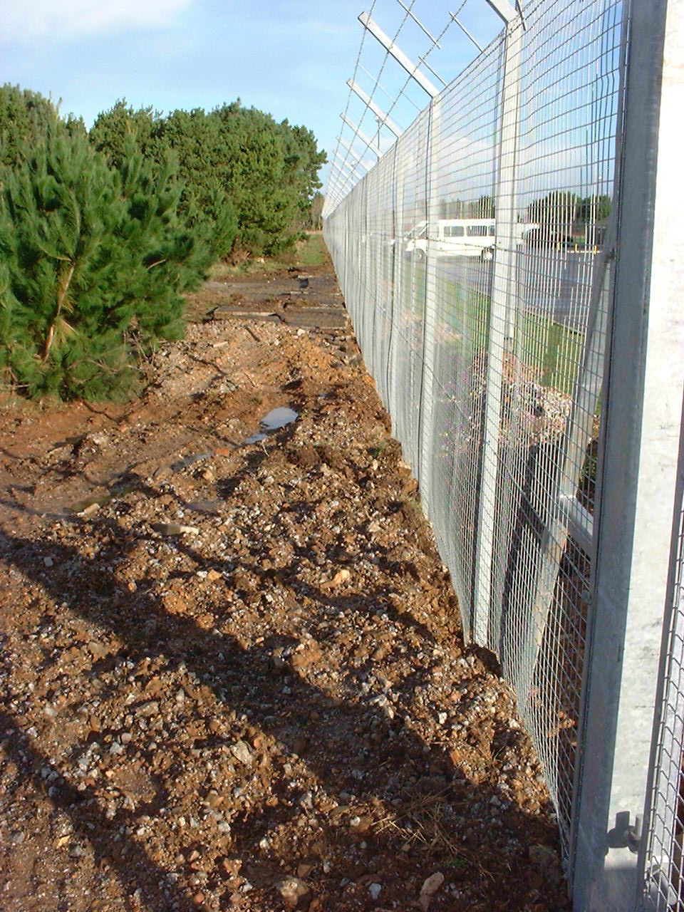 Completed ATFP Security Fence
