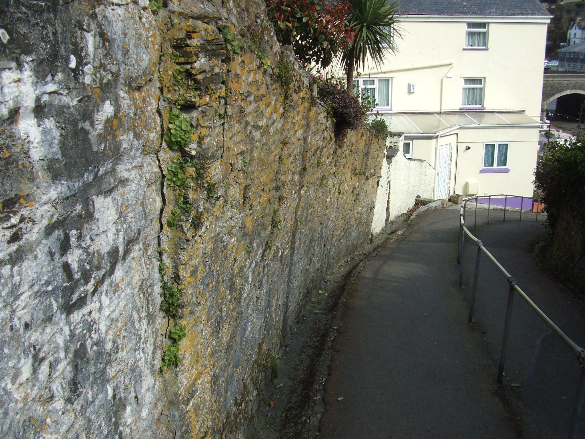 Original retaining wall