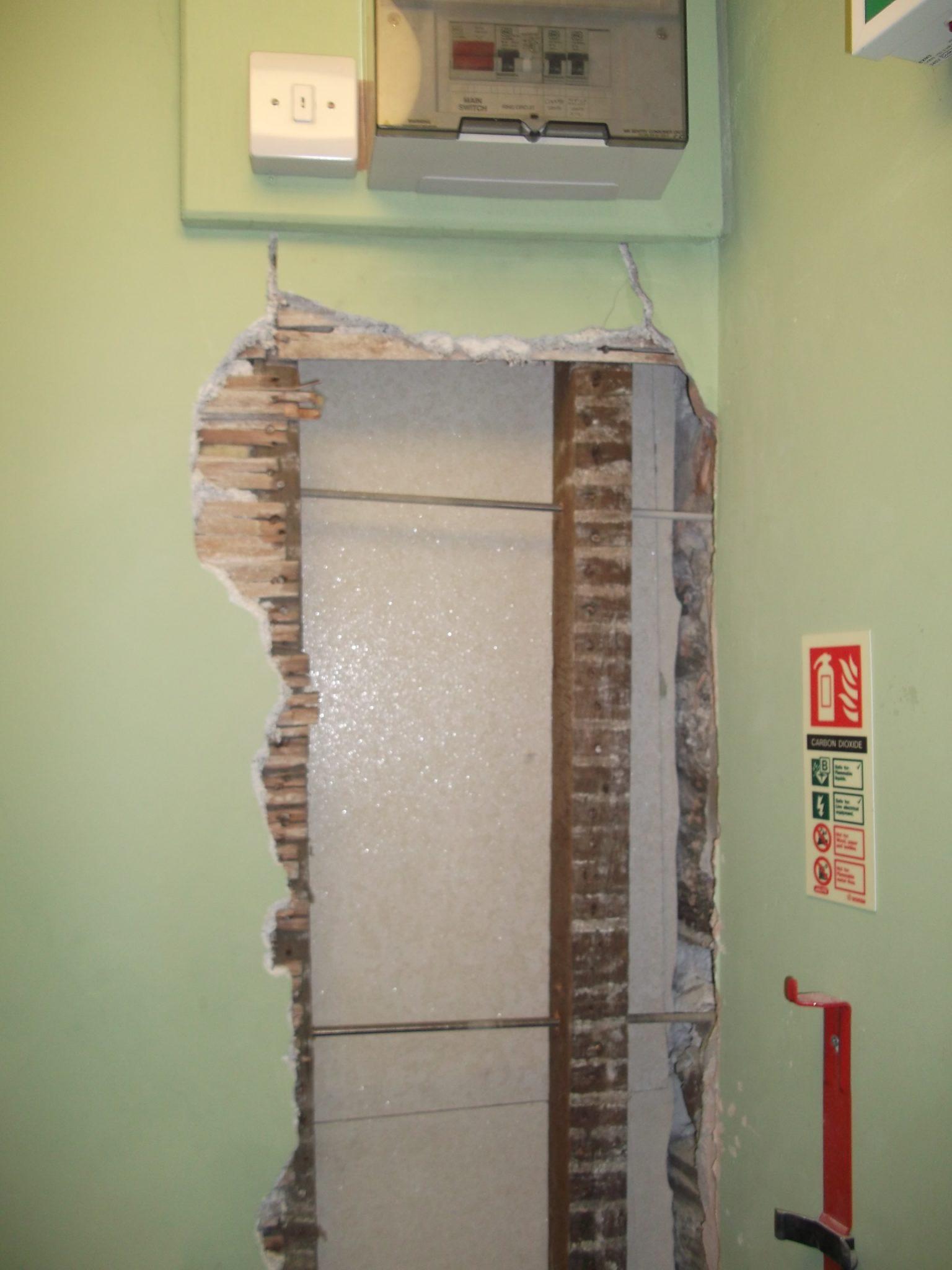 Repairs underway