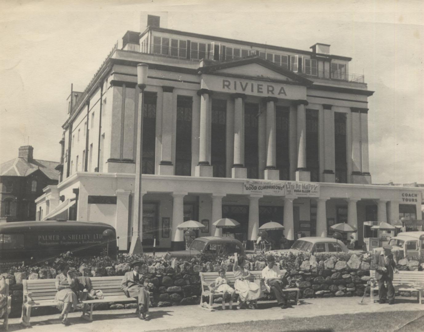 The Riviera Building circa 1960