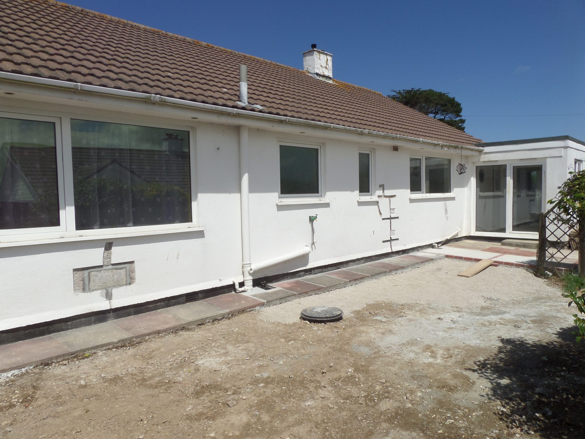 Excavation completed for finishes