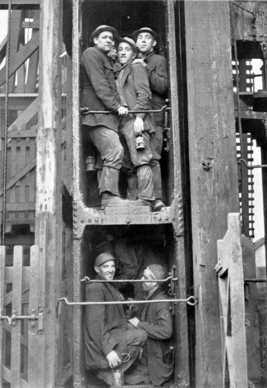East Pool Mine Lift Car